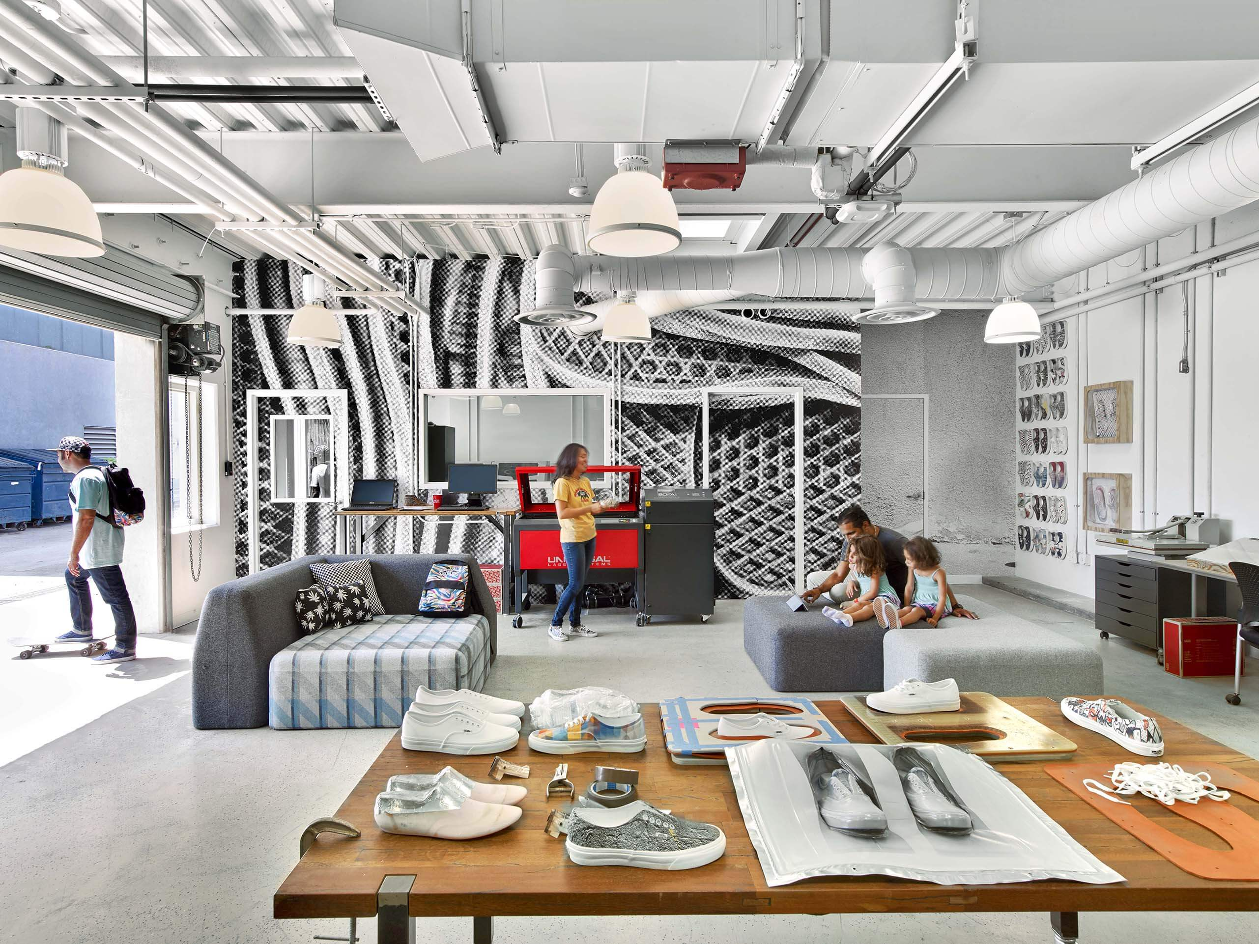 Vans 39 new digs is a 182 000 sq ft transformation by rapt for 111 maiden lane salon san francisco